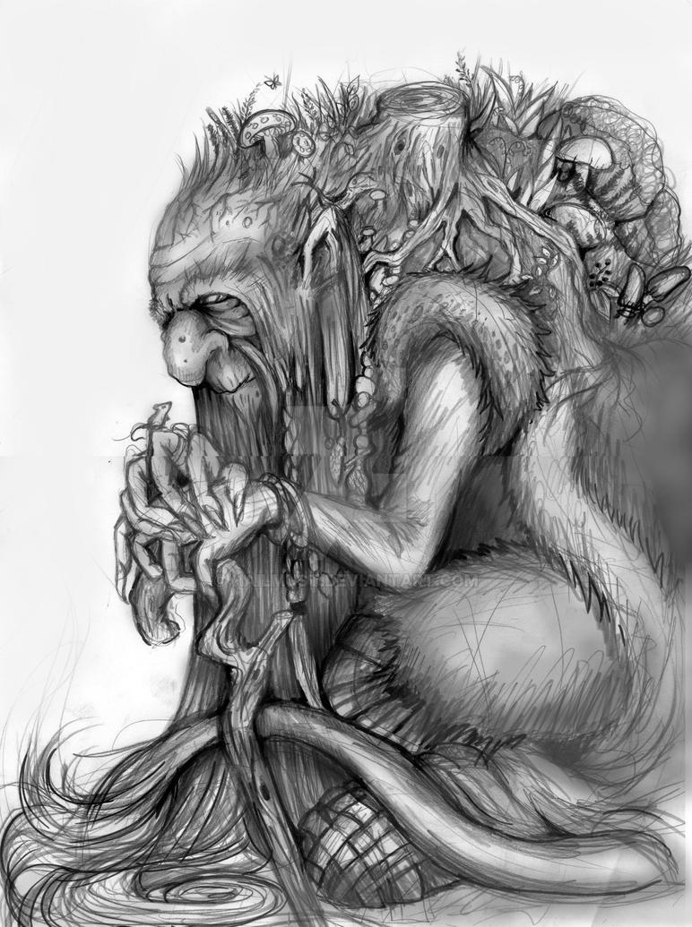 Old Troll by hailmust