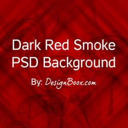 Dark Red Smoke PSD Background by mansy-graphics