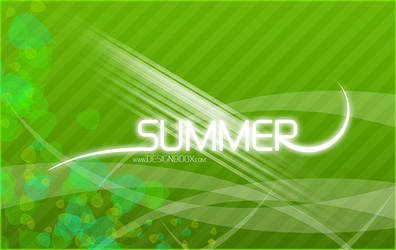 Summer Inspiration HD PSD Wallpaper
