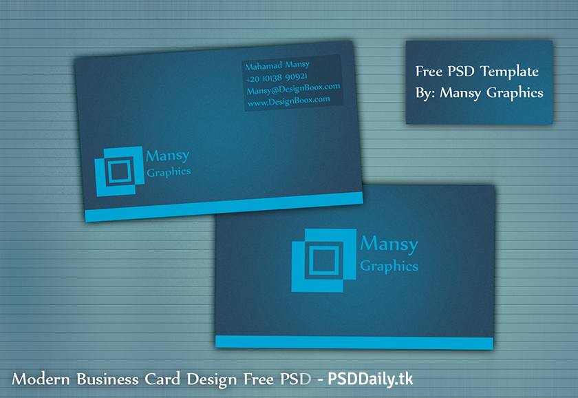 Business Card Design Template Free
