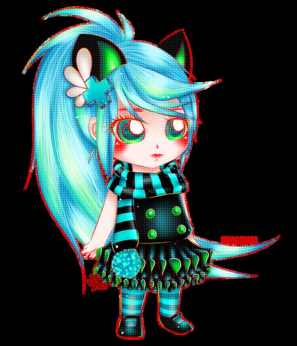 Electro Cat - Gaia Avy by DeadAmaranth