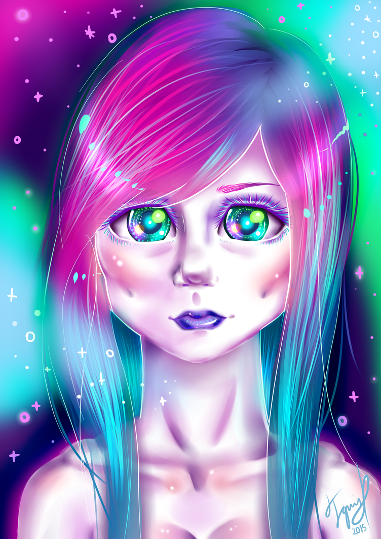 Cosmical Pastel by IgnaciaH