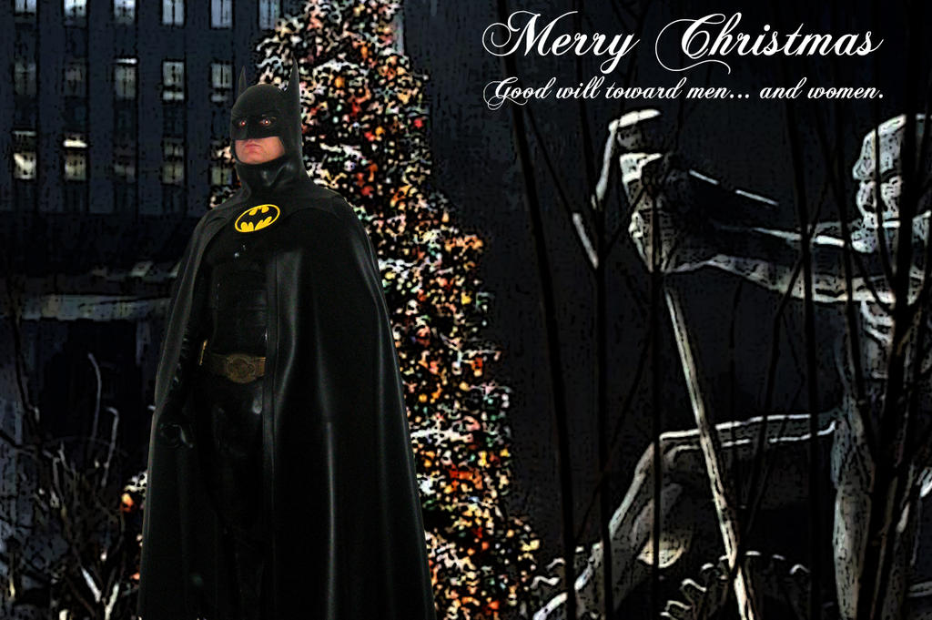 Batman Returns Merry Christmas Gotham Plaza by Syl001 on DeviantArt