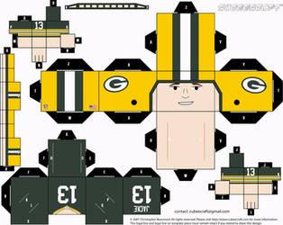 Chris Jacke Packers Cubee by etchings13