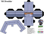 1988 Shredder TMNT Cubee 1 of2