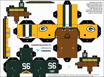 Datone Jones Packers Cubee by etchings13
