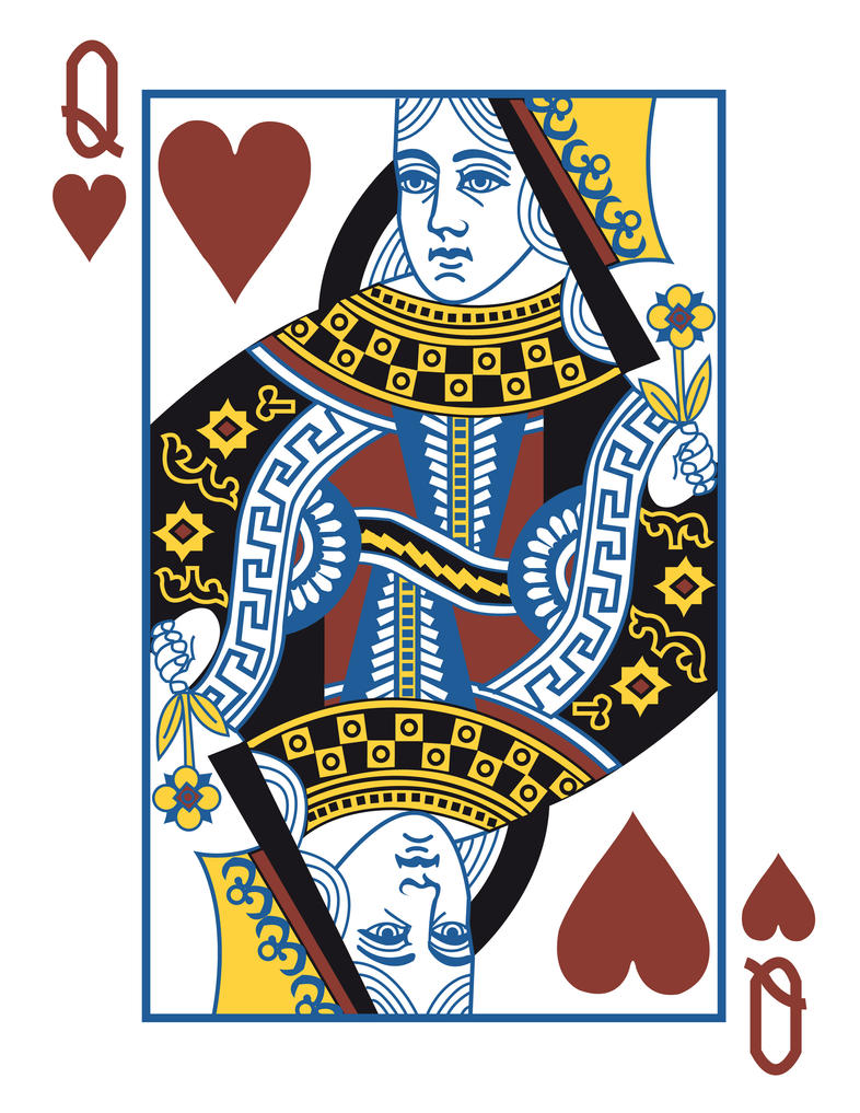 Queen of hearts by DICE3000 ...