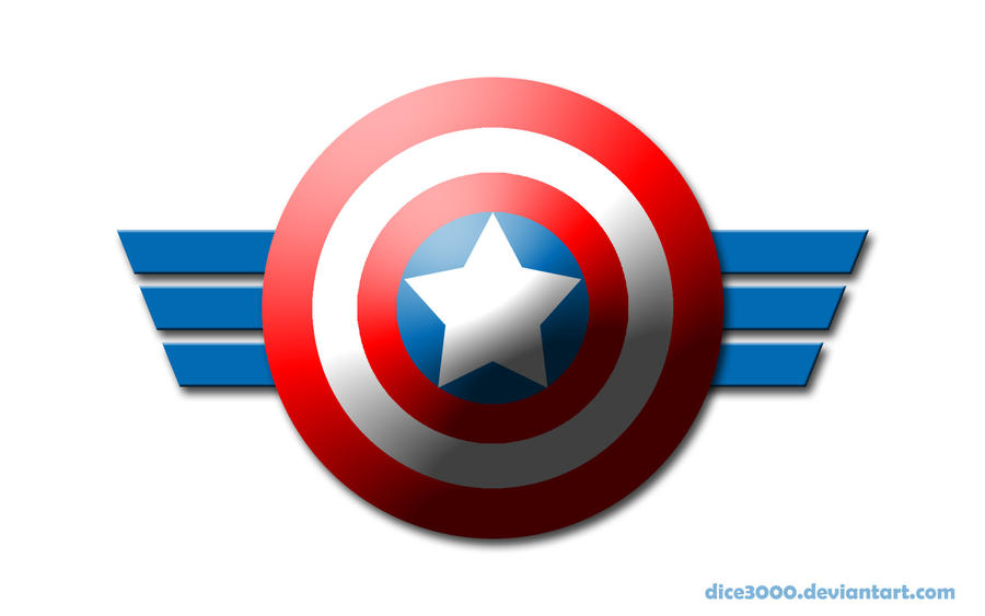 Captain America Shield Drawing: Captain America's Shield By DICE3000 On DeviantArt