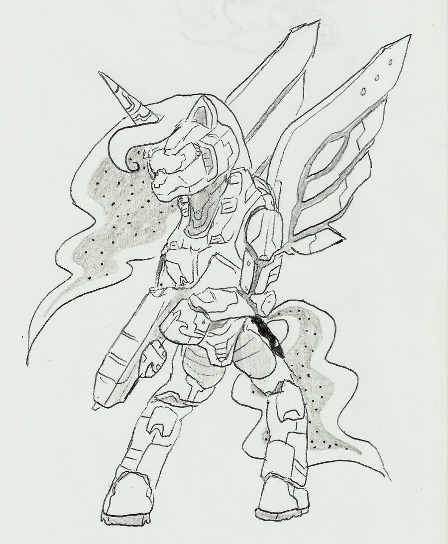 Luna spartan by joelashimself