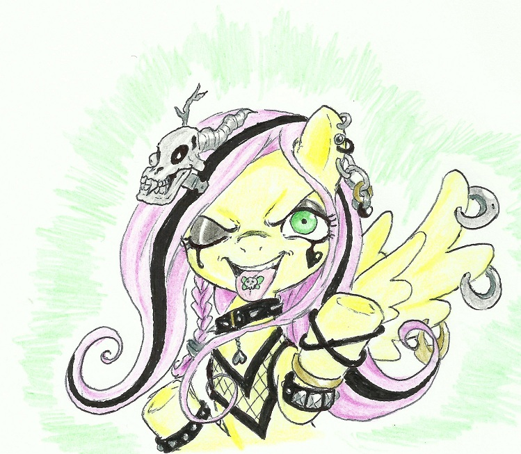 Flutterbitch by joelashimself