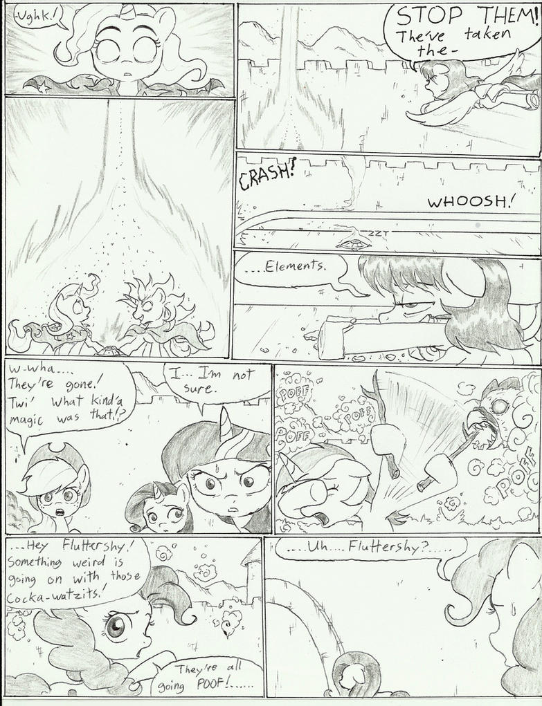 MLP FIM 'The forgotten element' Ch1-21 by joelashimself