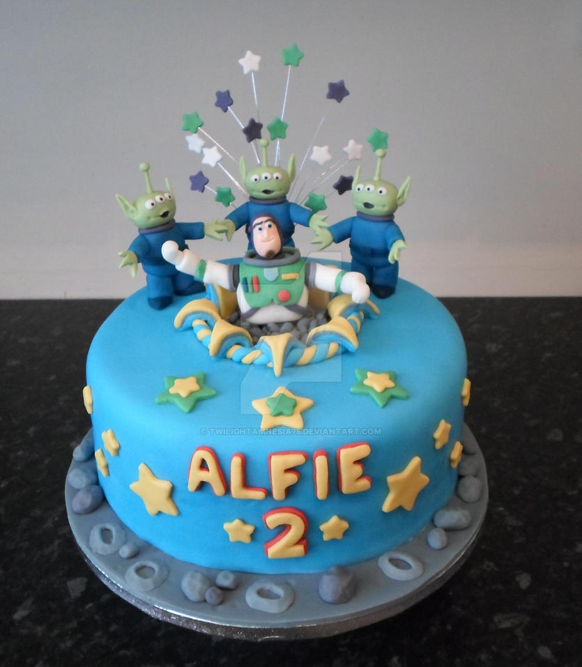 Buzz Lightyear Birthday Cake By Twilightamnesia75 On Deviantart