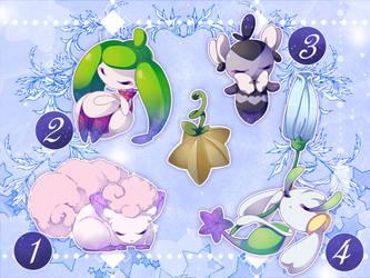 DTA Contest: Starry Pokemon - 30H letf