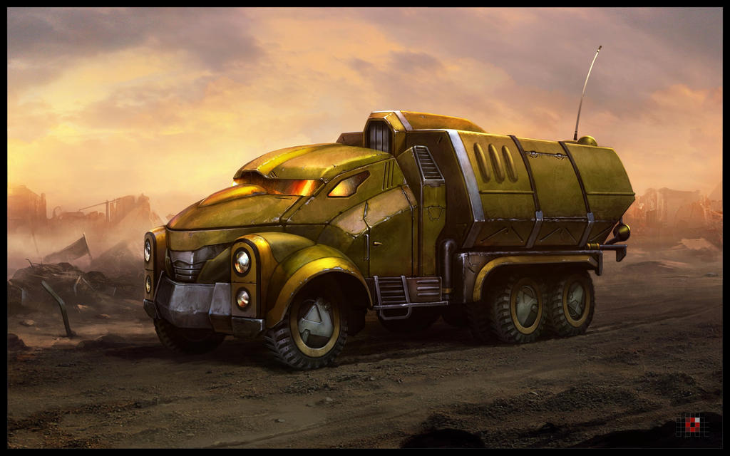 Old empire truck by AKIRAwrong