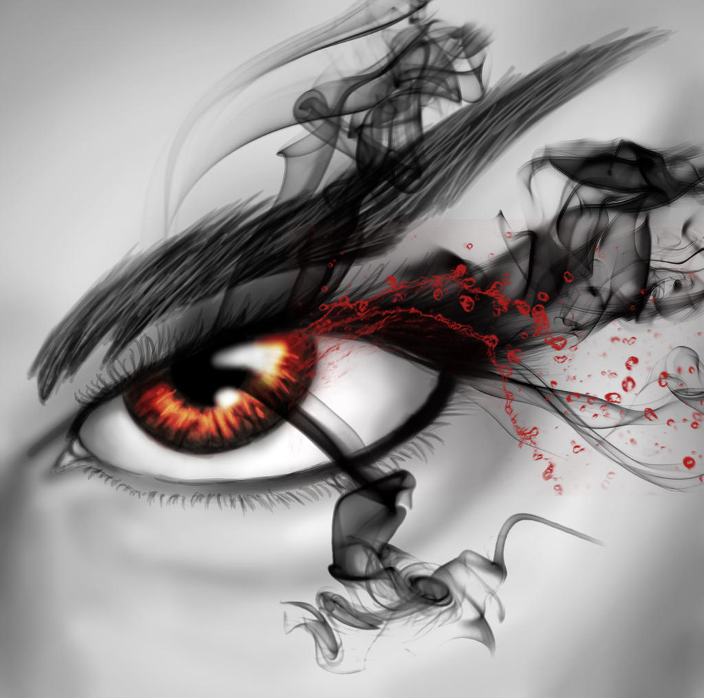 Fire Eye by AuroraPrints