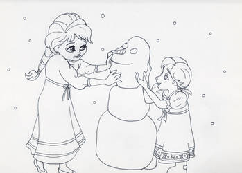 Frozen coloring page. Olaf the friendliest snowman | Frozen ... | 250x349