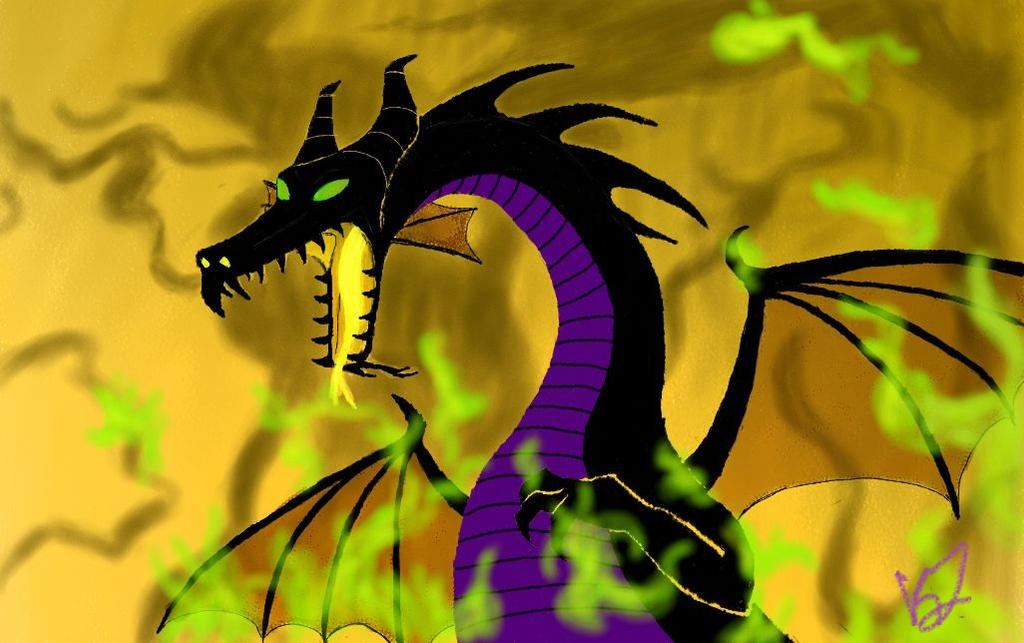 Maleficent Dragon Wallpaper Maleficent by Symmetry...
