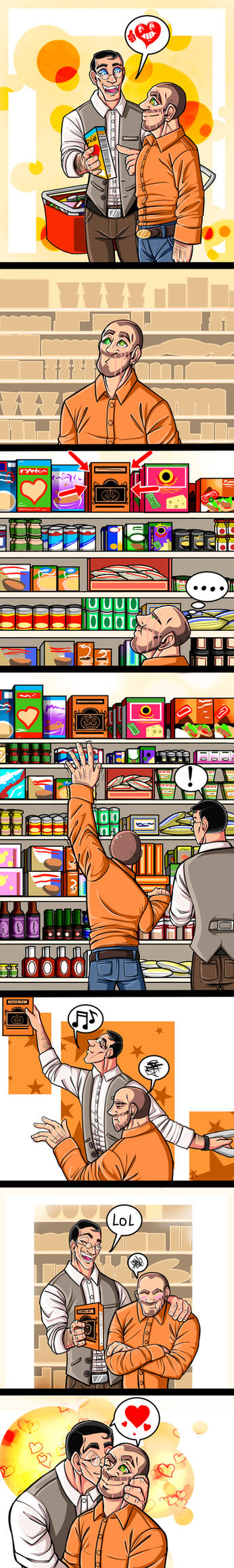 TF2 Day 8: Shopping by DeathRage22