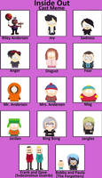 INSIDE OUT Cast Members