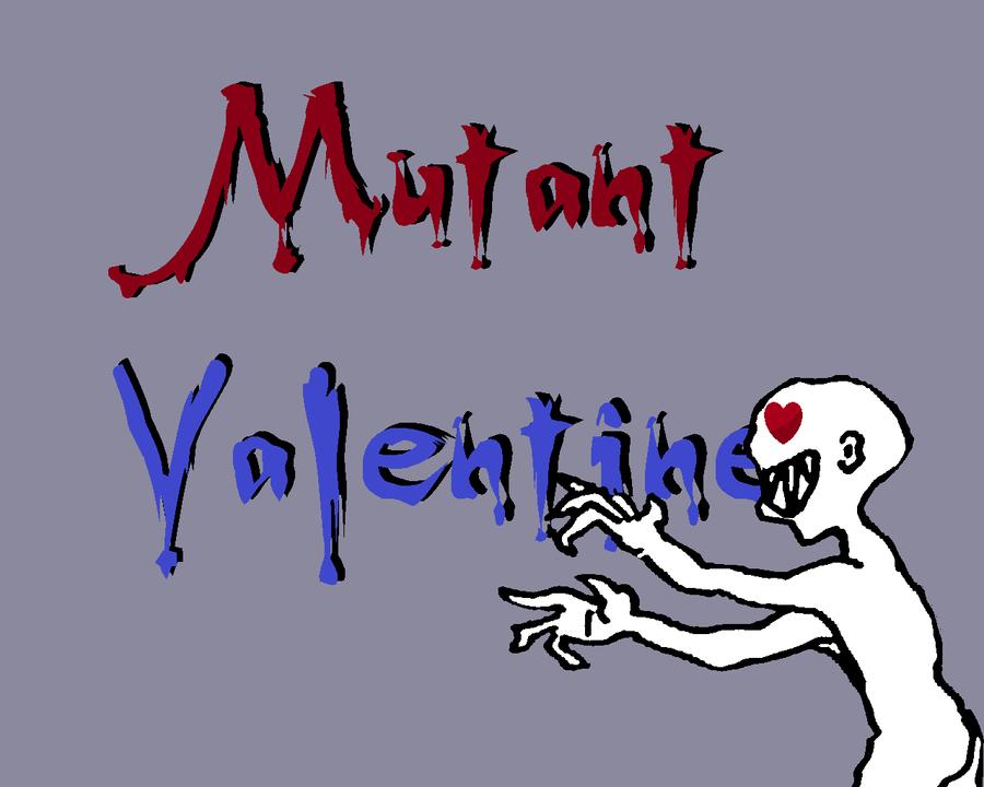 Mutant Valentine by SeaBlueSapphire
