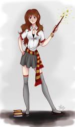 Hermione by JoolS-Black