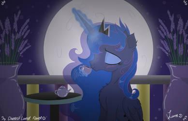 Commission: Moonlight Tea by Darkest-Lunar-Flower