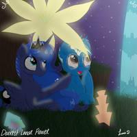 Commissioned by cedricc666: stargazing by Darkest-Lunar-Flower