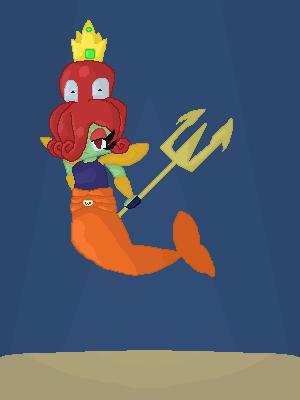 Neptuna | PvZ Heroes by Ponyed-Characters