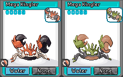 Mega Kingler sprite (sub-Commission to TomyCase) by Pikafan2000