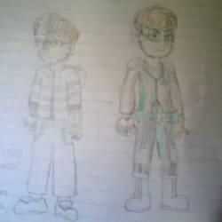 Alex (Human form + Buster Suit)