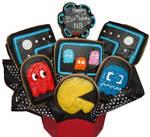 Pac Man Cookie Boquet