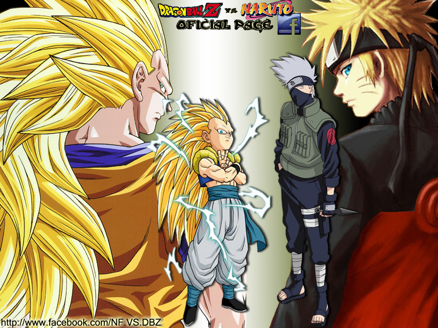 Dragon ball z vs naruto bing images - Naruto and dragonball z ...