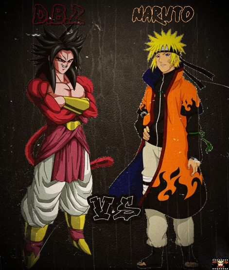 Naruto e dragon ball z by danielideias on deviantart - Naruto and dragonball z ...