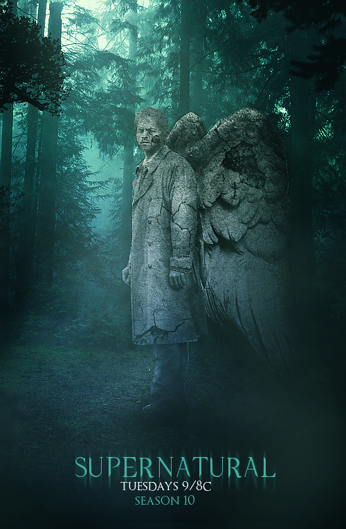 Supernatural Season 10 Poster : Castiel by BobbysIdjit on ...
