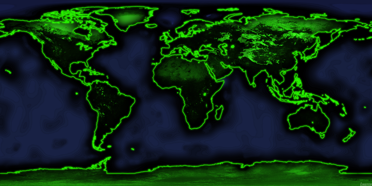 World Map Alteration by linkitch