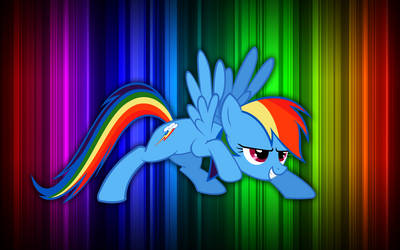 Rainbow Dash is ready by linkitch