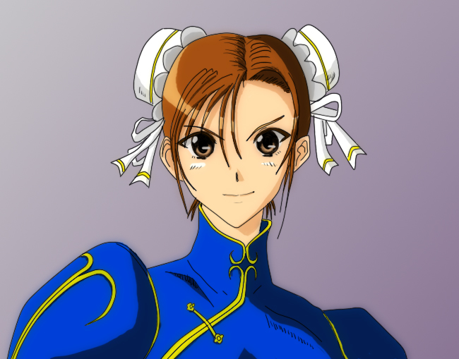 chun-li4-color by yuuk33