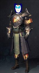 Finn Warlock by t1m3fr3ak