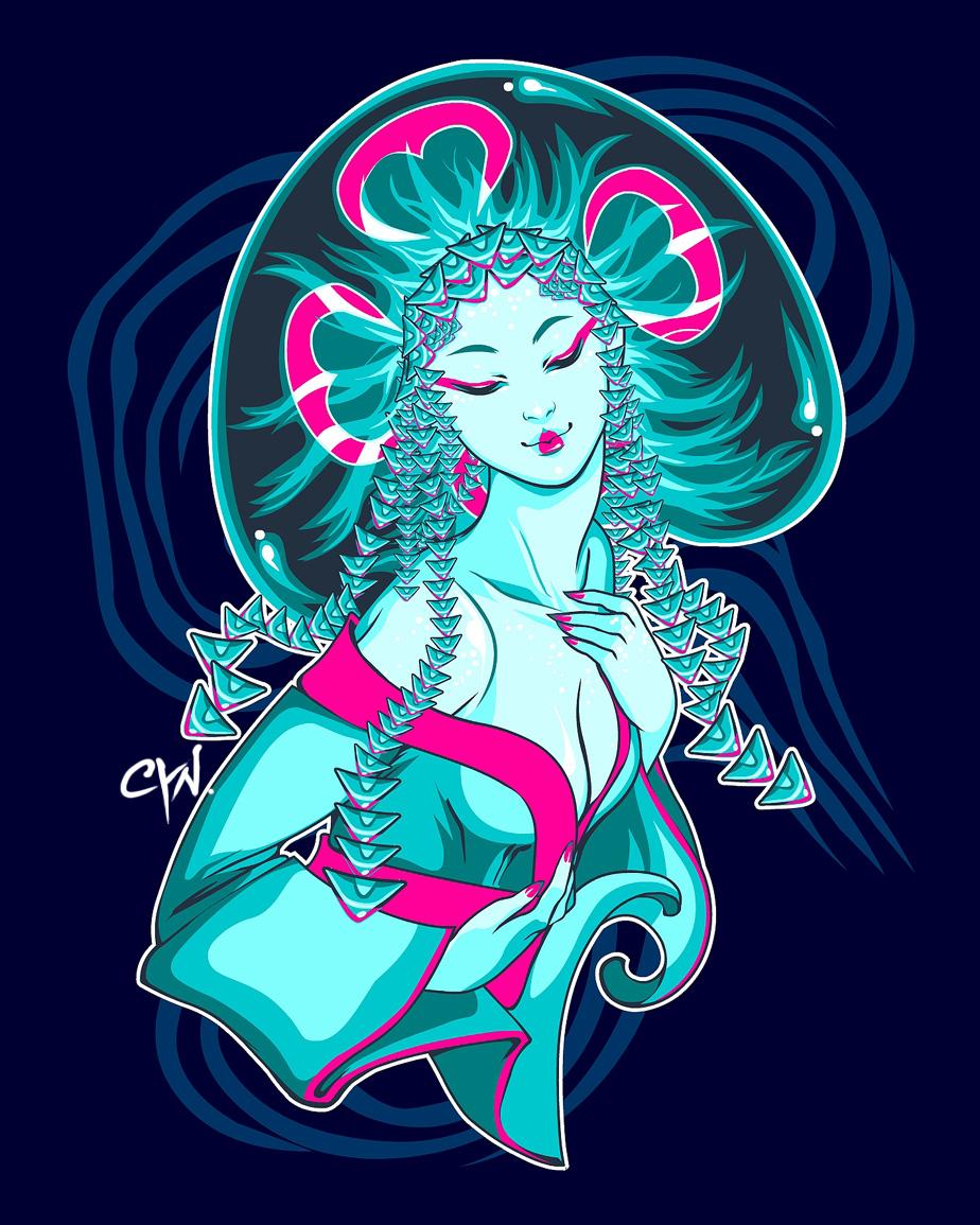 Water Geishas: Jellyfish