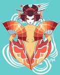 Water Geishas: Lionfish