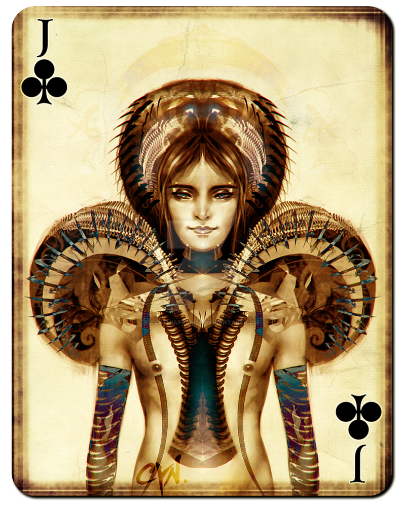 Playing Cards - Jack of Clubs by cynthiafranca