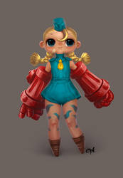 Tiny Cammy by cynthiafranca