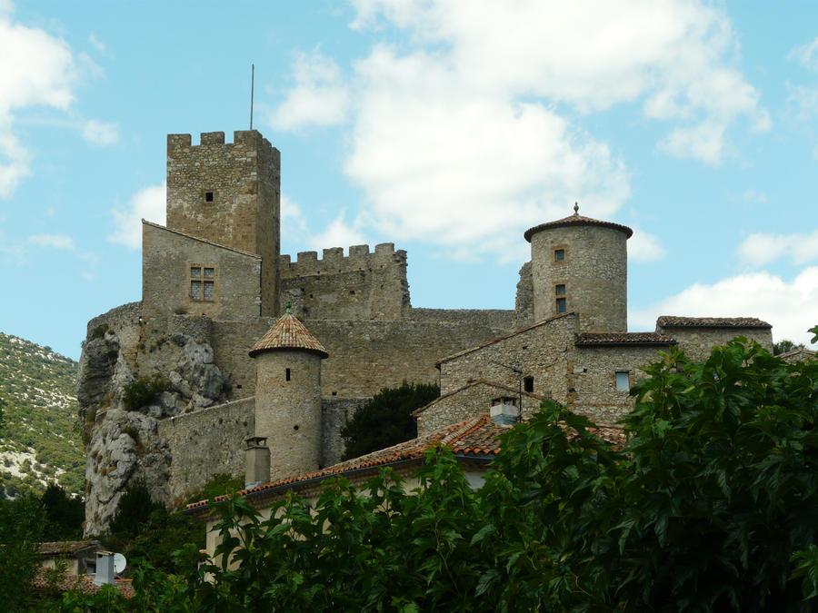Castle 12 by YsaeddaStock