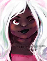 Smirk by Lazulelle