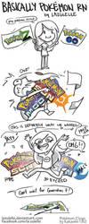 basically pokemon rn by Lazulelle