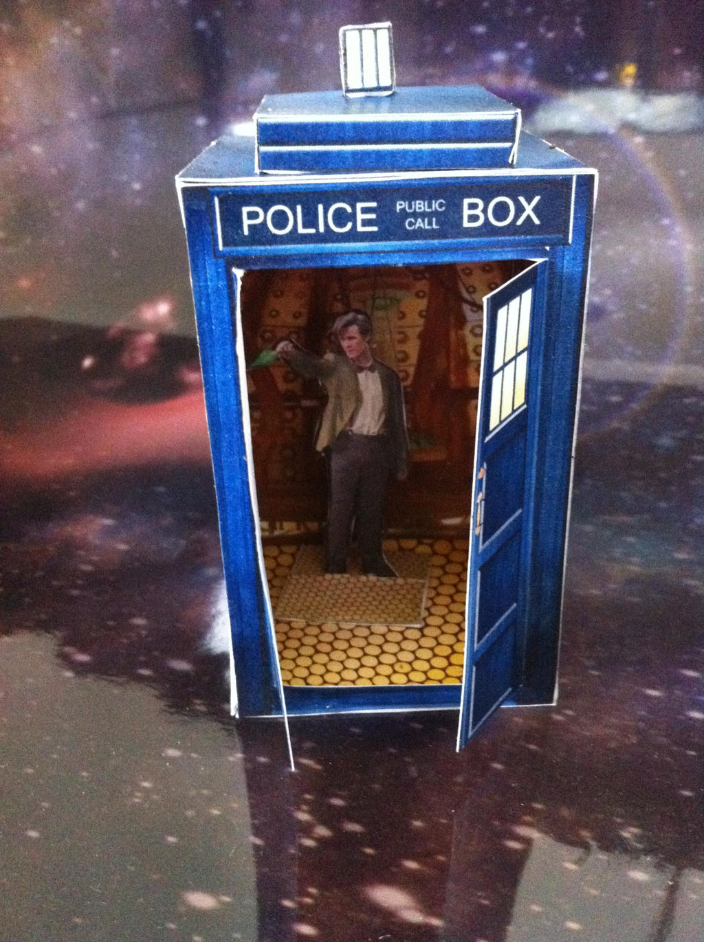 This is a photo of Delicate Doctor Who Paper