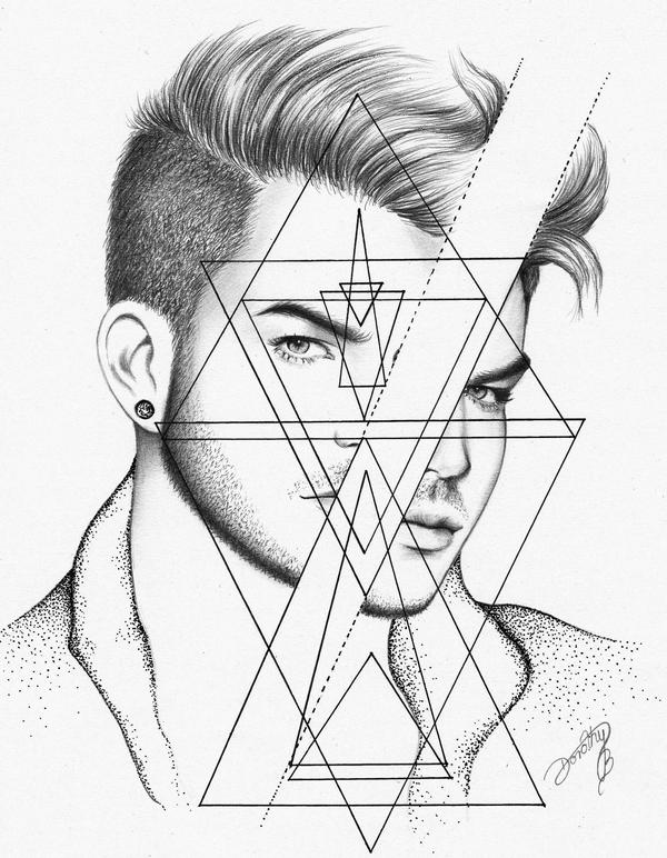 Adam Lambert: Geometric Mind by dojjU