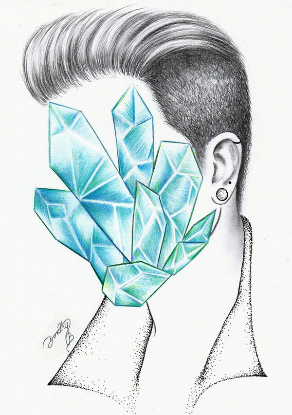 Adam Lambert - Aquamarine by dojjU
