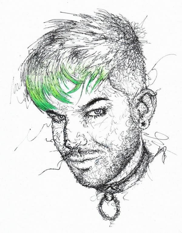 AL: Green Hair STILL Don't Care by dojjU