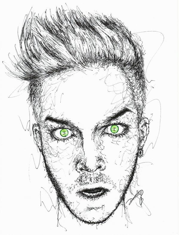 Adam Lambert: BOO! by dojjU